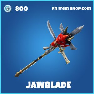 Rare jawblade fortnite pickaxe