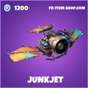 Junkjet epic fortnite glider