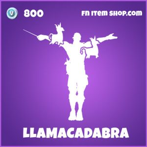 LLamacadabra epic fortnite emote