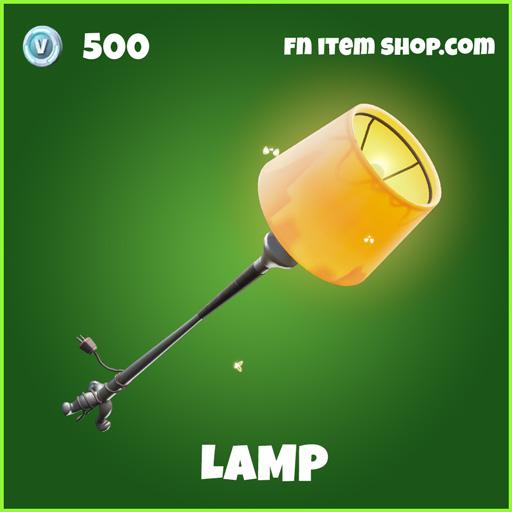 Lamp uncommon fortnite pickaxe