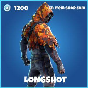 Longshot rare fortnite skin
