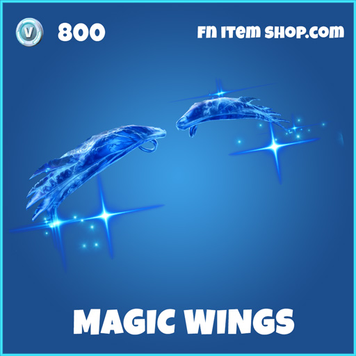 magic wings rare fortnite glider