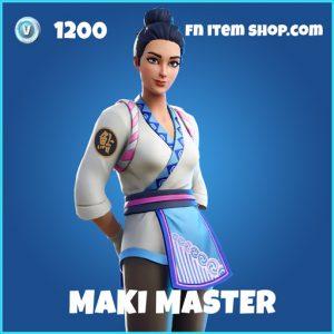 Maki master rare fortnite skin
