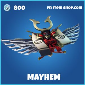mayhem rare fortnite glider
