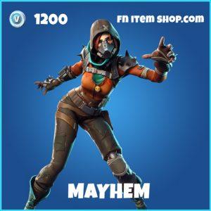 Mayhem rare fortnite skin
