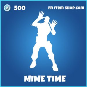 Mime time rare fortnite emote