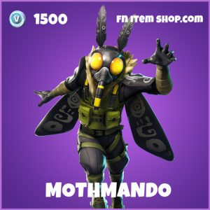 Mothmando epic fortnite skin