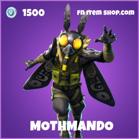 Mothmando epic fortnite skin