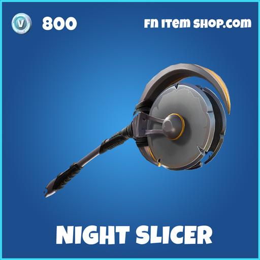 Night sLicer rare fortnite pickaxe