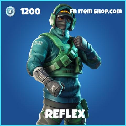 Reflex rare fortnite skin