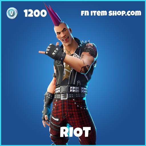 riot rare fortnite skin