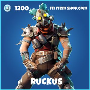 Ruckus rare fortnite skin