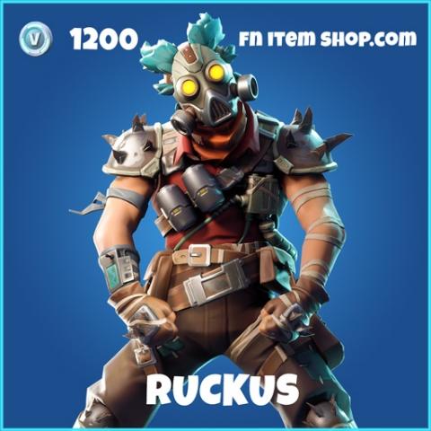 Ruckus rare fortnite skin