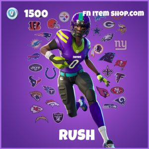 Rush epic fortnite skin