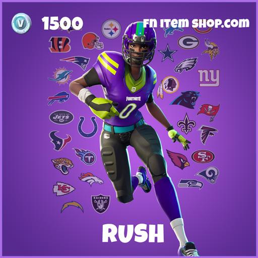Rush epic fortnite skin
