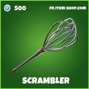 Scrambler uncommon fortnite pickaxe
