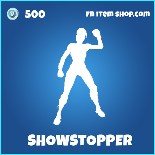 showstopper rare fortnite emote