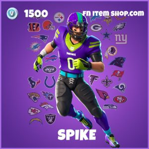 Spike epic fortnite skin