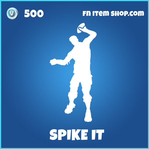 Spike it rare fortnite emote