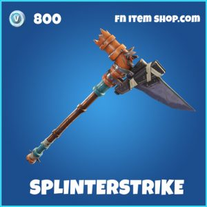 splinterstrike Rare fortnite pickaxe