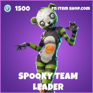 spokky team leader epic fortnite skin