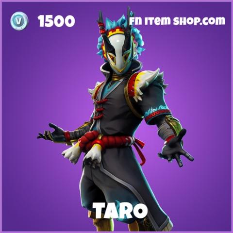 taro epic fortnite skin