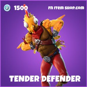 Tender Defender epic fortnite skin