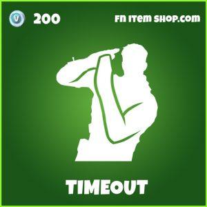 Timeout uncommon fortnite emote