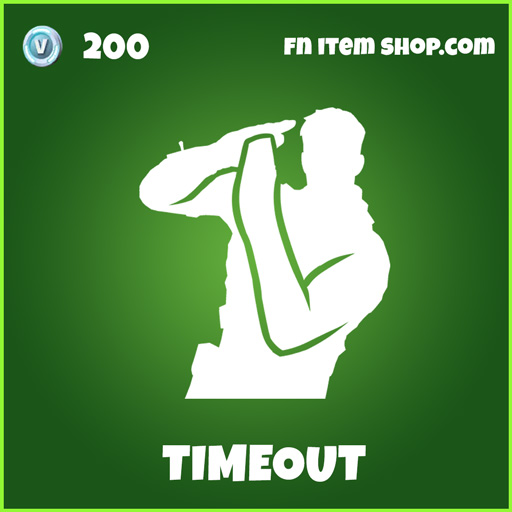 Timeout uncommon fortnite emote