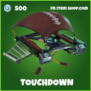 Touchdown uncommon fortnite glider