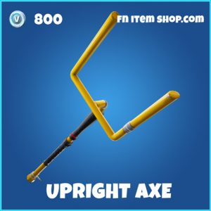 Upright axe rare fortnite pickaxe