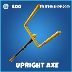 Upright axe rare fortnite pickaxe