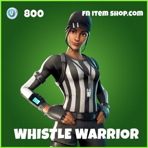 Whistle Warrior uncommon fortnite skin