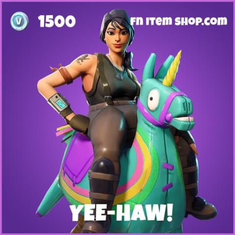 yee-haw epic fortnite skin
