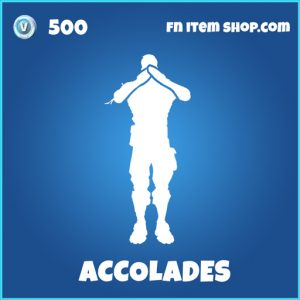 Accolades rare fortnite emote
