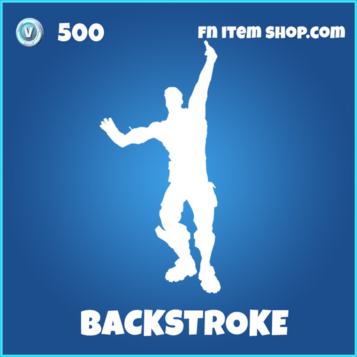 Backstroke rare fortnite emote