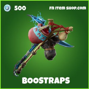 Boostraps uncommon fortnite pickaxe
