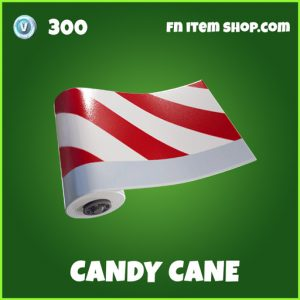 Candy cane uncommon wrap