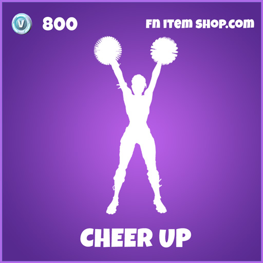 cheer up epic fortnite emote
