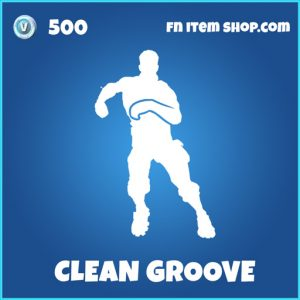 clean groove rare fortnite emote