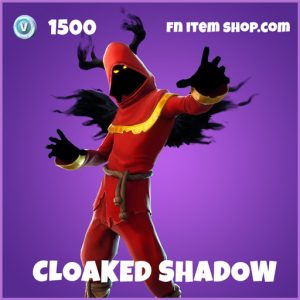 Cloaked Shadow epic fortnite skin