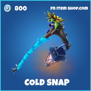 cold snap rare fortnite pickaxe