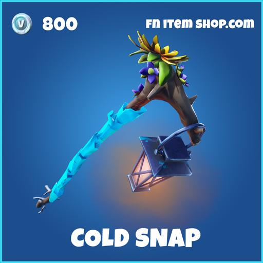 cold snap rare fortnite pickaxe