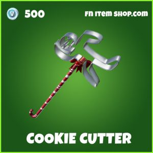 cookie cutter uncommon fortnite pickaxe