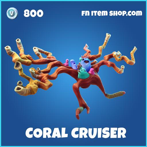 Coral Cruiser rare fortnite glider