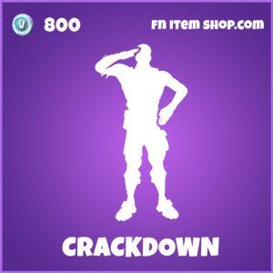 crackdown epic fortnite emote