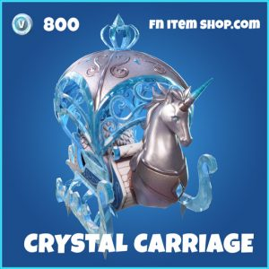 Crystal Carriage rare fortnite glidder