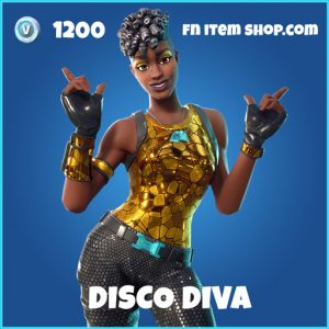 Disco Diva rare fortnite skin
