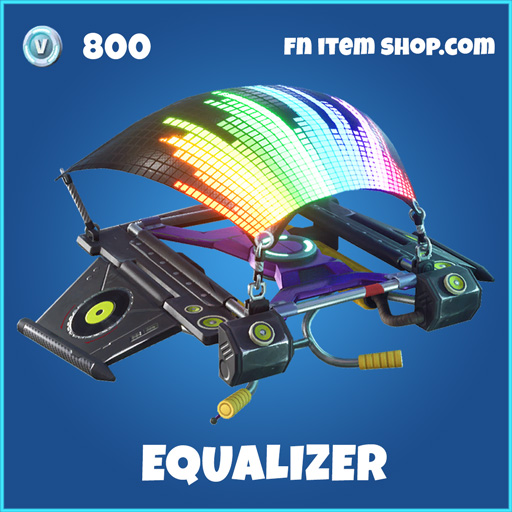 Eqaulizer rare fortnite glider