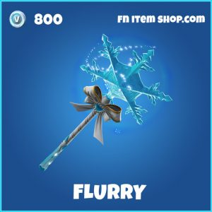 flurry rare fortnite pickaxe